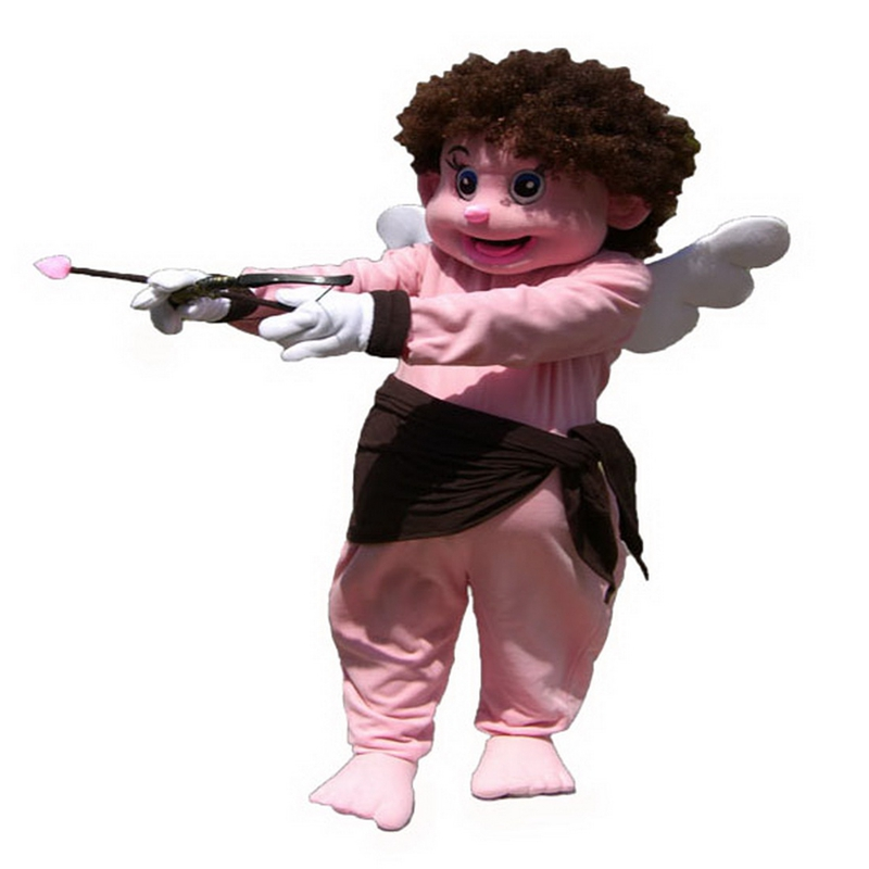 Angel Cupid Mascot Costume Free Shipping