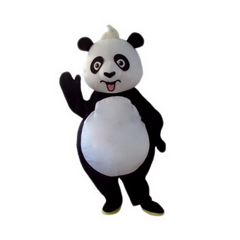 Cute Cartoon Panda Mascot Costume Free Shipping