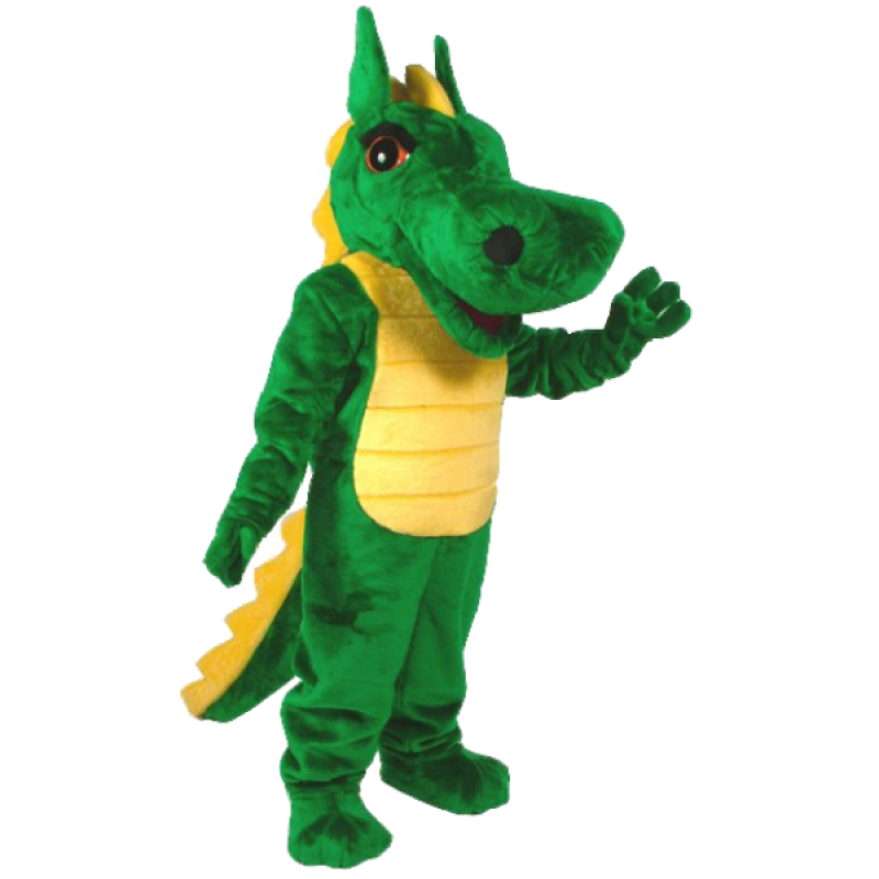 Dragon Mascot Costume Free Shipping