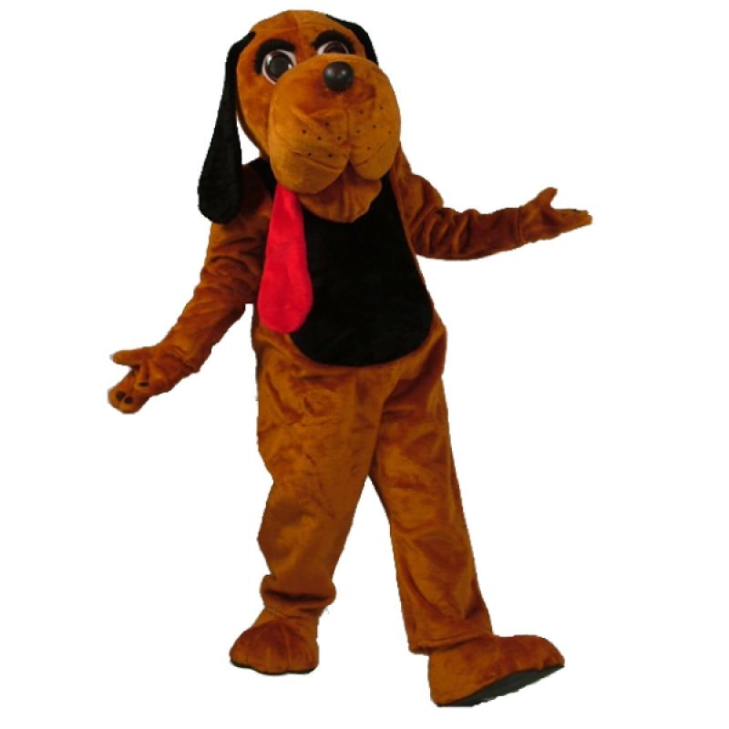 Hound Dog Mascot Costume Free Shipping