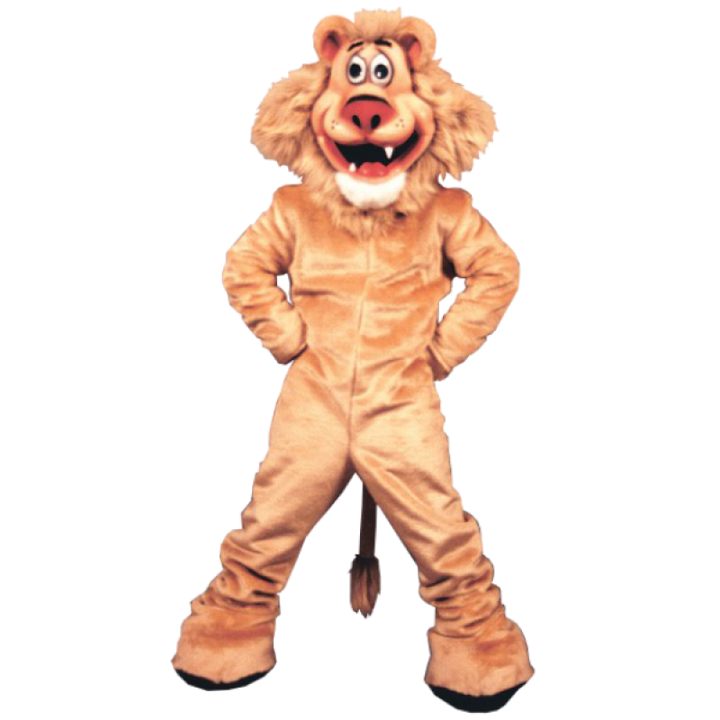 Lionel Lion Mascot Costume Free Shipping