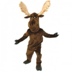Moose Mascot Costume Free Shipping