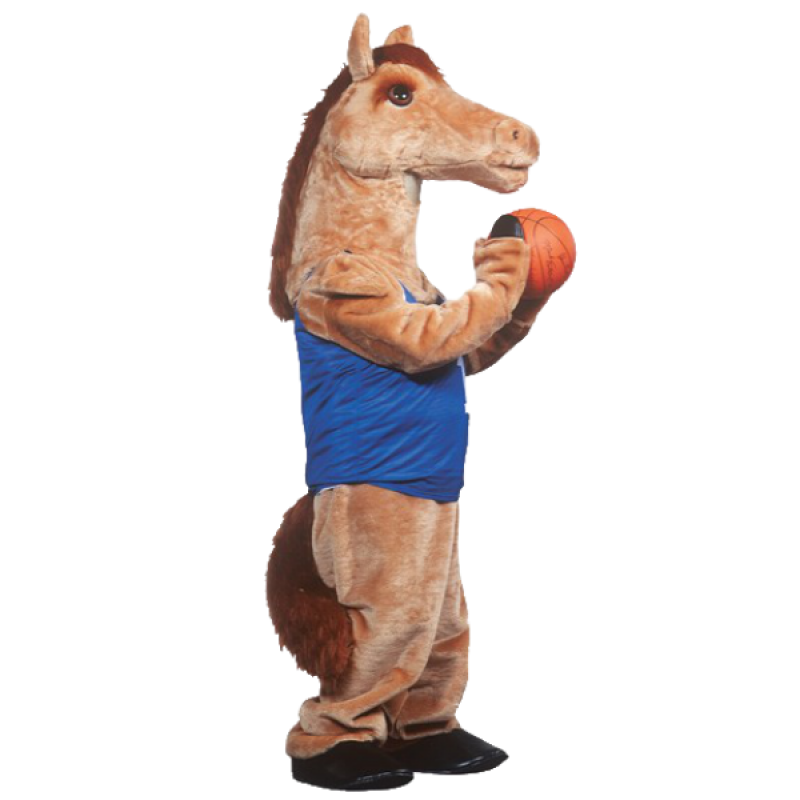 Mustang Mascot Costume Free Shipping
