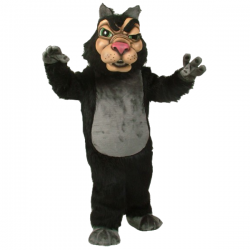 New Wolf Mascot Costume Free Shipping