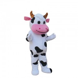 Professional Farm Cow Mascot Costumes Free Shipping