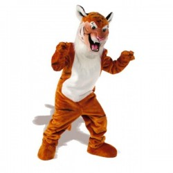 Tiger Mascot Costume Free Shipping