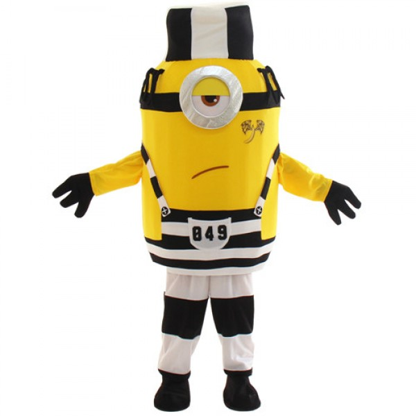 Lovely One Eye Despicable Me Minion Mascot Costume With Hat