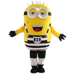 Two Eyes Laugh Despicable Me Minion Mascot Costume