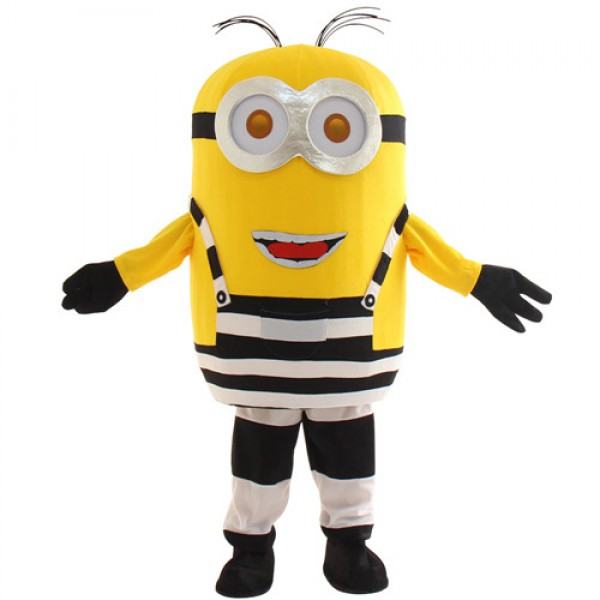 Cute Two Eyes Laugh Despicable Me Minion Mascot Costume