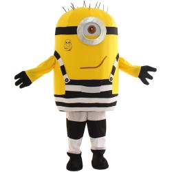 One Eye Laugh Despicable Me Minion Mascot Costume