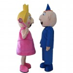 Ben and Holly Mascot Costume For Adults