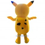 Cartoon Pikachu Mascot Costume Free Shipping