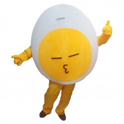 Yellow Egg Mascot Costumes Free Shipping