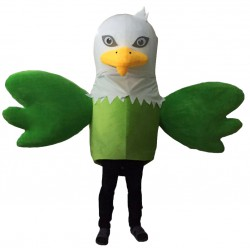Green Eagle Mascot Costumes Free Shipping
