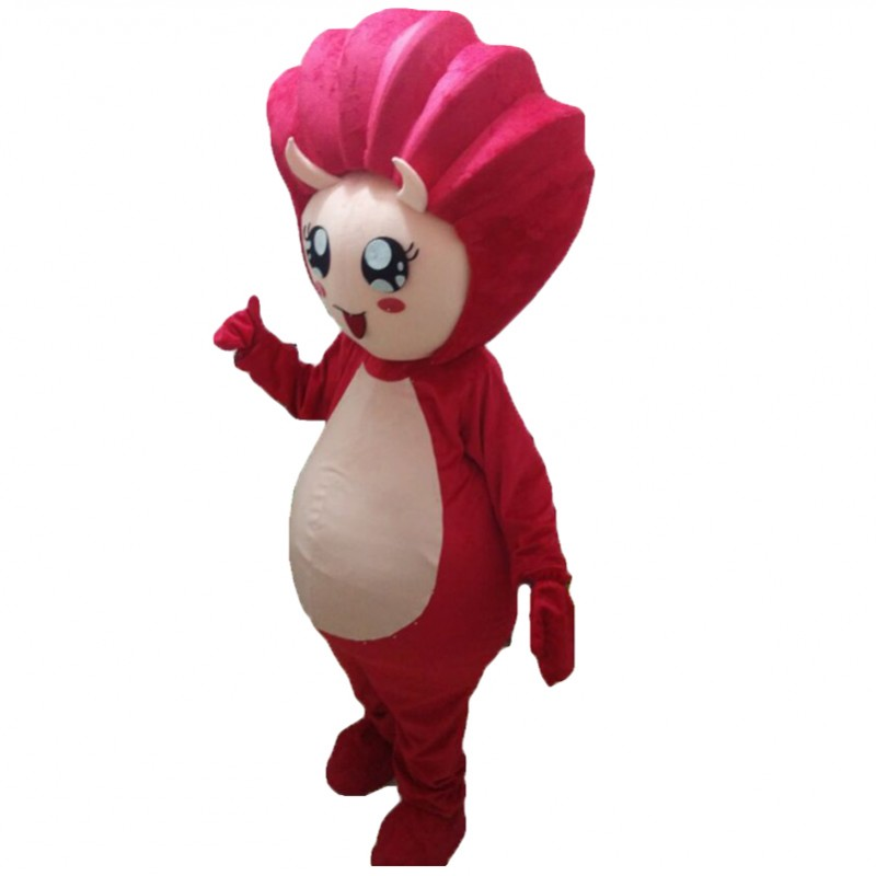 Red Shell Mascot Costumes Free Shipping
