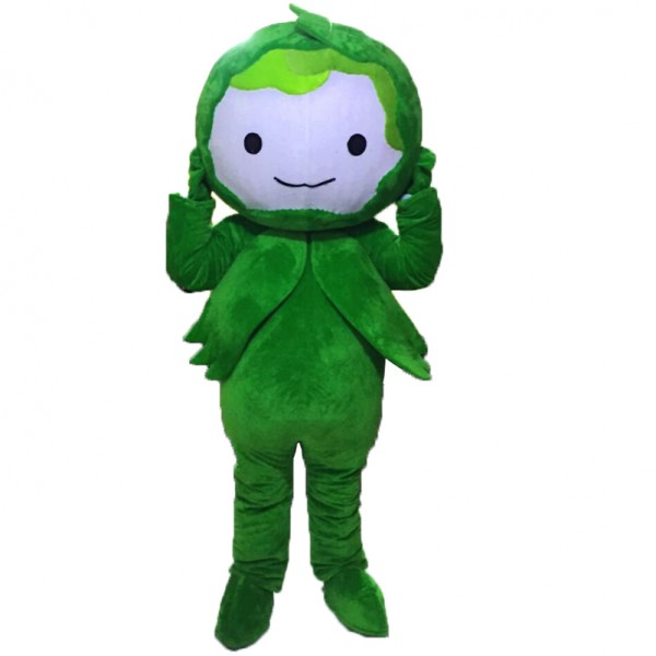 Green Cabbage Mascot Costumes Free Shipping