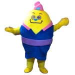 Yellow Monster Mascot Costumes Free Shipping