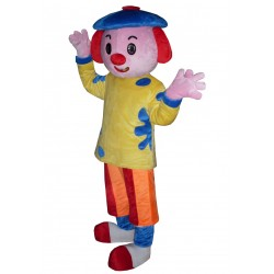 Cute Clown Mascot Costume Cartoon Costumes