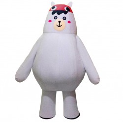 White Big Bear Mascot Costumes Free Shipping