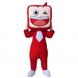 TV Set Mascot Costumes Free Shipping