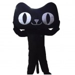 Black Cat Mascot Costumes Free Shipping
