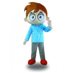 Hot Sale Professional Big Eyes Boy Mascot Costume