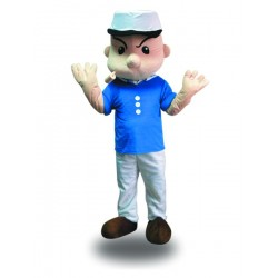 Popeye Sailor Mascot Costume