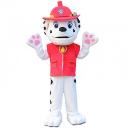 Red Paw Patrol Marshall Mascot Costume