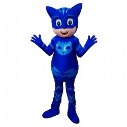 Blue PJ Masks Parade/Birthdays Mascot Costume