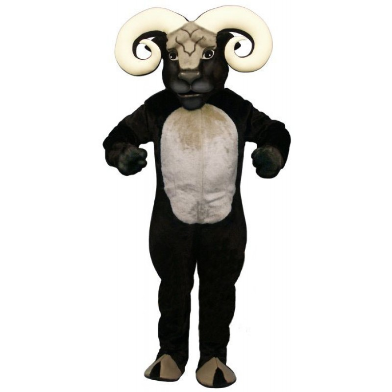 Blocking Ram Mascot Costume