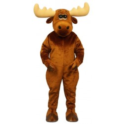 Moony Moose Mascot Costume