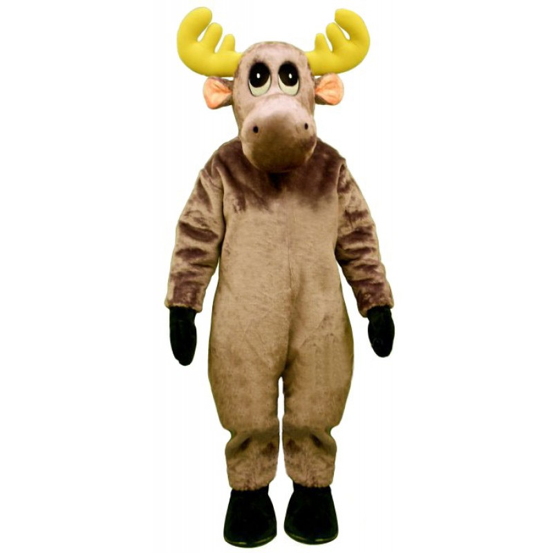 Mildred Moose Mascot Costume